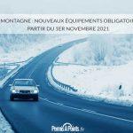 Loi Montagne : nouveaux équipements obligatoires à partir du 1er novembre 2021